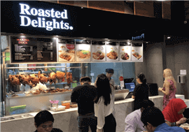 Roasted Delight Stall Available For Takeover