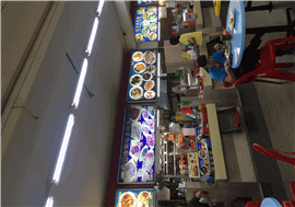 Cheap Rental Popiah Rojak Stall For Rent