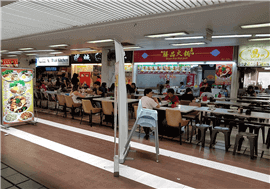 HDB Hub Hawker Stall For Rent - High Traffic, 50 Meter From MRT