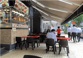 Telok Ayer Foodstall For Rent
