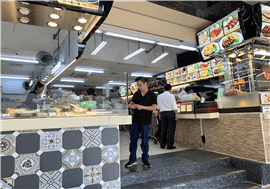 Raffles Place Food Stall For Rent