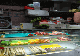 2In1 Cut Fruits & Stall For Rent